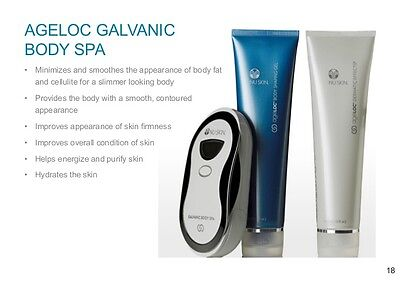 Galvanic Body Spa Trio Set Body Shaping Uk Seller