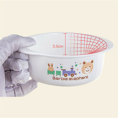Baby Food Bowl Drop Resistance Bowls for Microwave Oven Training Eating Assisted
