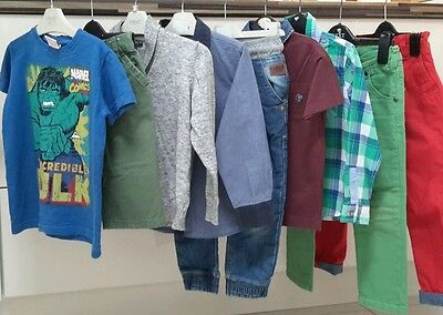 100% Next Boys Tops Trousers Clothes Bundle Age 5 Years