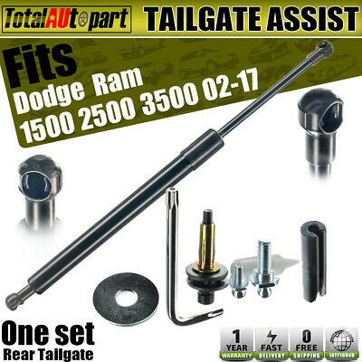 Tailgate Assist Shock Struts for Dodge Ram 1500 Ram 2500 Ram 3500 2002-2009