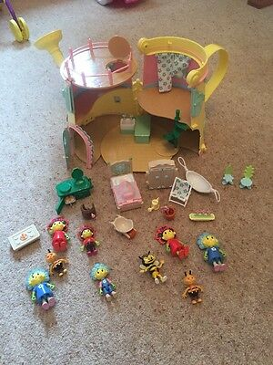 Fifi & The Flowertots Watering Can Play Set House Lots Of Furniture And Figures