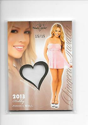 2013 Benchwarmer Hobby Jessica Hall Lingerie Swatch Relic 15/15