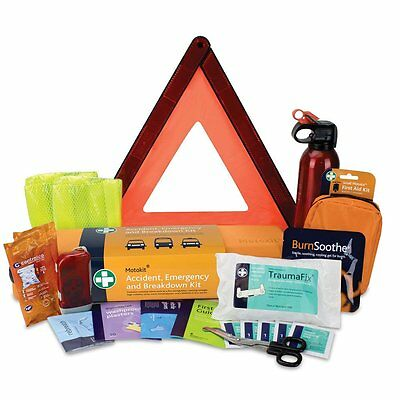 Accident, Emergency and Breakdown Car Kit / European Car Travel First Aid Kit