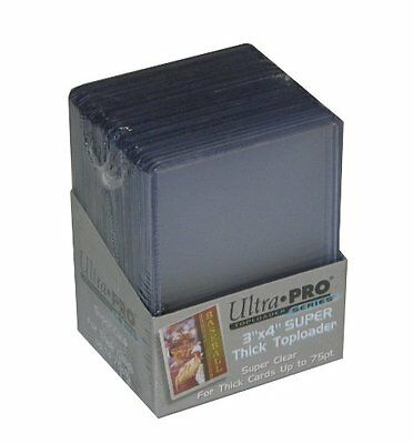 Ultra Pro Card Toploader (Pack of 25 - 75 Thickness) Ultra-Pro 3 x 4