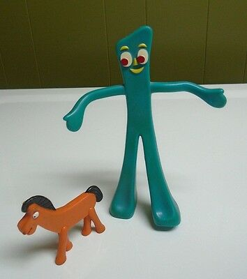 Prema Gumby & Pokey Bendable Fexible Toy Figures