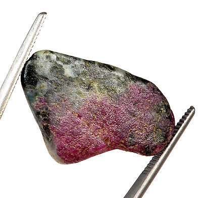 30.72 Ct. Certified Natural Ruby Zoisite  Rough Shaped Gemstone Gem. No- 297