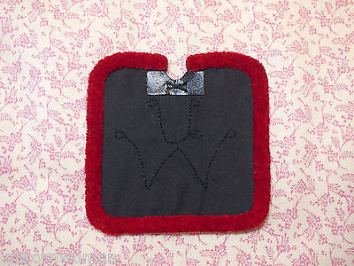 Unicorn Woman's SHORT Size Red Roll Corona Saddle Pad Stone Breyer