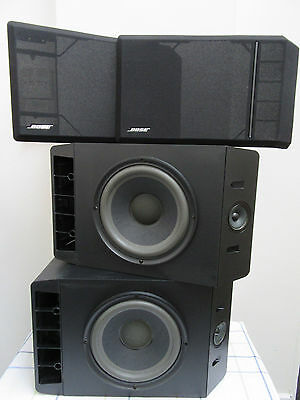 Bose 301 Series Iv Direct Reflecting Speakers 2X Left Exc Sound / Condition