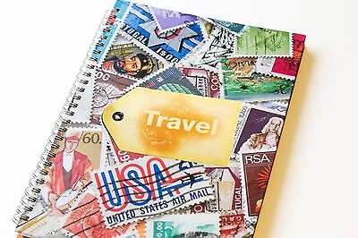 Travel Journal Diary Book.  Perfect for Recording your Travelling Adventures.