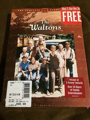 BRAND NEW The Waltons - First Season (DVD, 2004, 5-Disc Set) SEALED