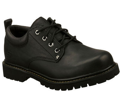251e4fd123e New Mens Skechers Tom Cats Leather Oxford Shoes Style 6618 Black 107x