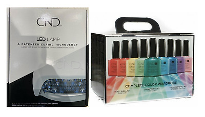 CND Shellac LED Lamp & CND Shellac Rainbow Collection Kit The Complete Kit