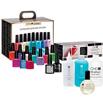 CND Shellac Superior Service Kit The Complete Starter Kit