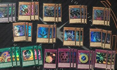Yugioh Mvp1 Complete Tournament Ready 43 Card Cubic Budget Deck Core! All Holo!