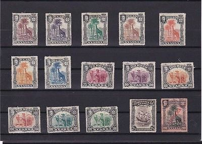 Nyasa Stamps On Stock Card  Ref R 1356