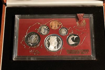 1984 Singapore Proof Coin Set with Original Box And COA 14839