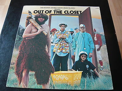 Out Of The Closet...spoken Word Comedy Lp 33Rpm Lgbt Gay Lesbian Humour Album