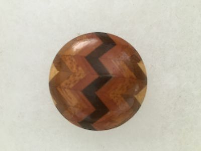 Wood Marquetry Button NBS Large Gorgeous