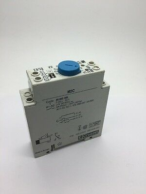 Crouzet M2C 88 882 300 Electronic Timer Time Delay Relay 0.05s-60h RS 329-086