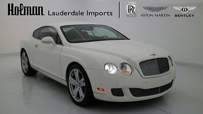 2010 Bentley Continental GT GT W12 COUPE AWD 2010 10 BENTLEY GT W12 COUPE * CERTIFIED WARRANTY * ONLY 11K MILES * LOADED * FL