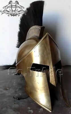 300Movie Spartan King Leonidas Medieval Helmet Greek Roman worrier Costume Gift
