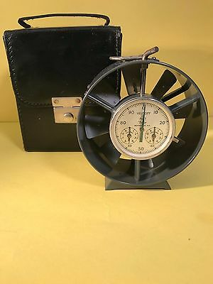 Vtg.Taylor Velocity Wind Gauge! Collectable Mining Equipment In EUC - A MUST SEE