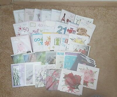 Job Lot Birthday Cards, Occasions, Ages x 77 Brand New