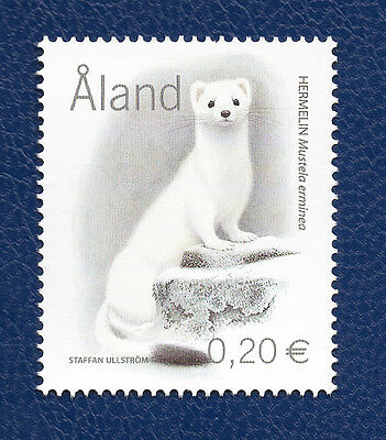 Stamp Aland Islands (2004) White Ermine - MNH