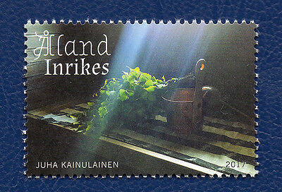 Stamp Aland Islands (2017) Sauna - MNH