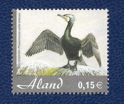 Stamp Aland Islands (2005) Grey Heron - MNH