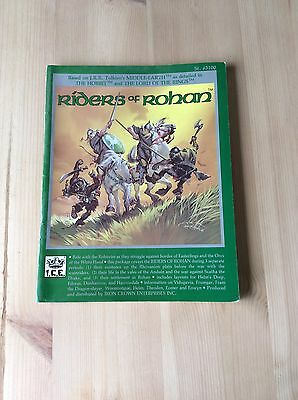 MERP ICE Riders Of Rohan Lord Of The Rings Fantasy Role Playing Book