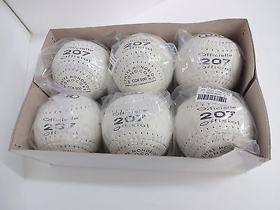 "6 New Balls Softball 12"" Inches DR Official 207"