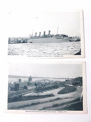 Post Cards ; Vintage ,Halifax, Nova Scotia, Set Of Two- Early 1900's, Unposted