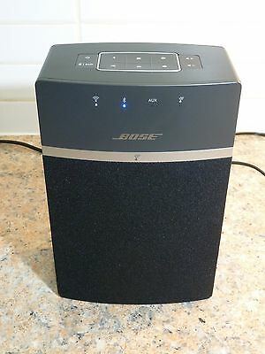 Bose SoundTouch 10 Wireless Music System Bought Oct 2016. Black. Mint Condition.