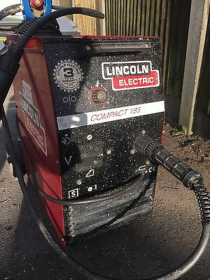 Lincoln Electric Compact 185 Mig Welder Single Phase 240V