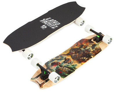 Landyachtz Wolf Shark Mini Hollowtech Downhill Freeride Longboard Deck