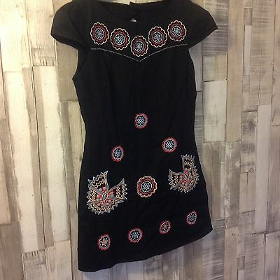 A Black Monsoon Fusion Shift Dress  Owned And Worn By Toyah Willcox