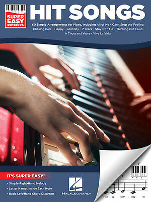 Hit Songs – Super Easy Songbook (Piano) Piano Various (Artist)