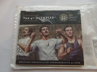 2008 Royal Mint £2 Coin Presentation pack -Centenary of the London Olympics