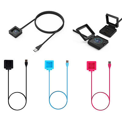 StrapsCo Replacement Charger for Fitbit Blaze Watch USB Charging Cradle Dock