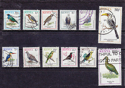 Kenya 1993 Birds Part Set .... Used