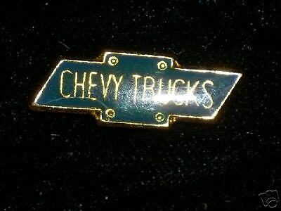 CHEVY TRUCKS  logo  hat (lapel pin ,