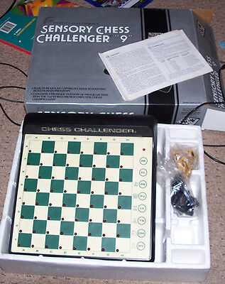 Fidelity Sensory Challenger 9 Chess Computer Eighties