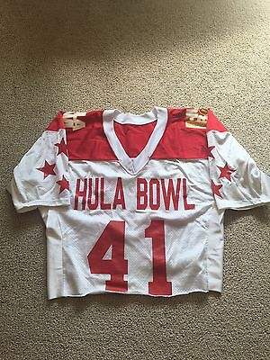 Anthony McClanahan 1994 Hula Bowl Game Worn Jersey Washington State Cougars