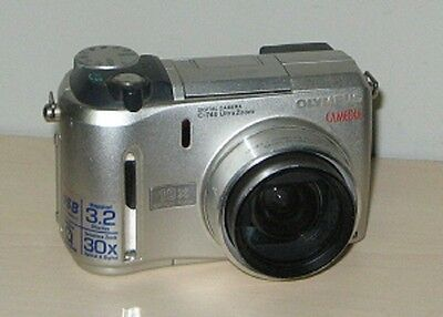 CAMERA OLYMPUS Camedia C-740 Used Fair Condition