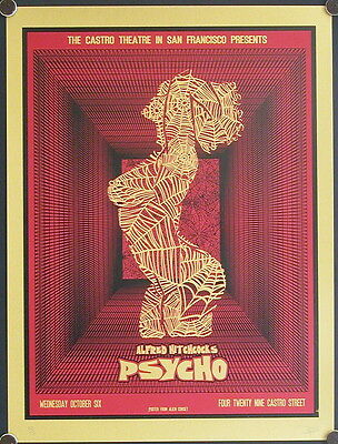 Psycho - DAVID O'DANIEL CASTRO THEATRE RED VERSION
