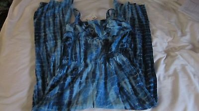 New With Tags Justice Girls Size 12 Tie Dye Romper