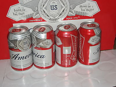 Bulk Lot of 500 Budweiser Beer Can Red Crown Pull Tabs All Identical