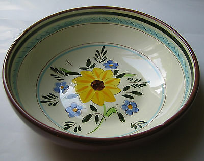 Stangl Pottery Country Garden Large 10 inch Salad / Pasta Serving Bowl / Dish