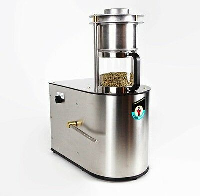 Sonofresco 1200 Coffee Roaster Bluetooth ADR Technology Custom Roast Profiles!